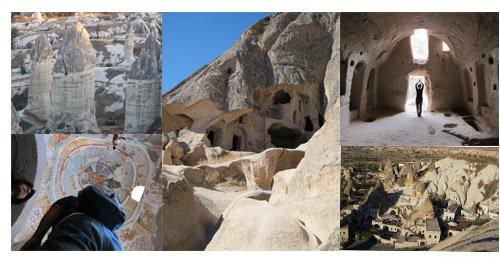 Cappadocia: pueblos cavados en roca 3