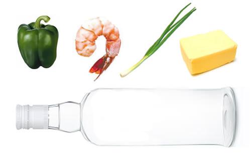 Camarones al vodka 1