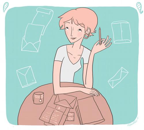 El pequeño gusto de enviar cartas 3
