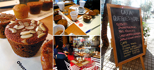 Cata de queques en Shot CaféBar 1