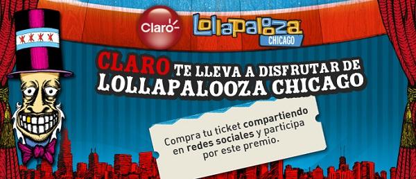 Claro te lleva a Lollapalooza Chicago 1