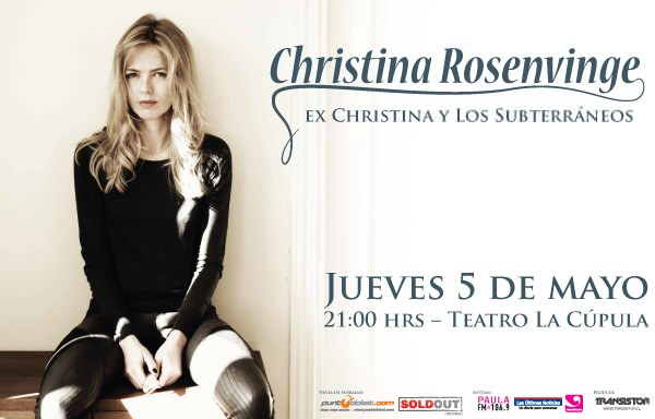 Christina Rosenvinge en La Cúpula 3