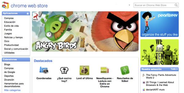 Las aplicaciones de Google Chrome 3
