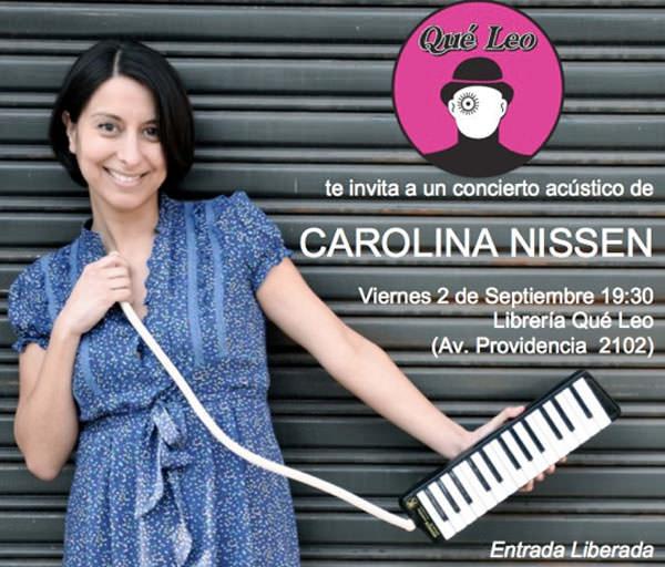 Carolina Nissen en Qué Leo 3