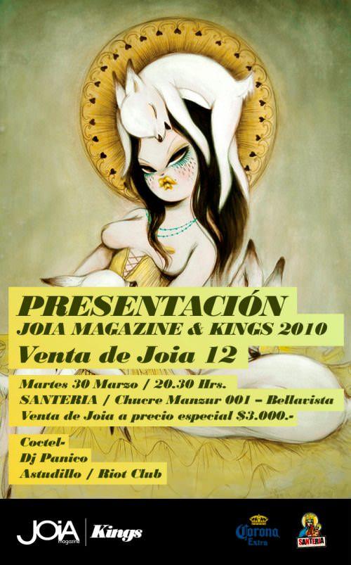 Lanzamiento Joia Magazine nº 12 1