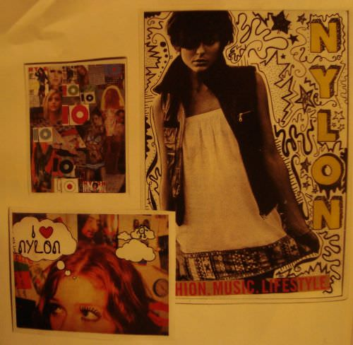collage nylon