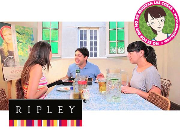 """Gana con Ripley y el capítulo 6 de NSPQ """"La Comida y la Felicidad"""" 1"""