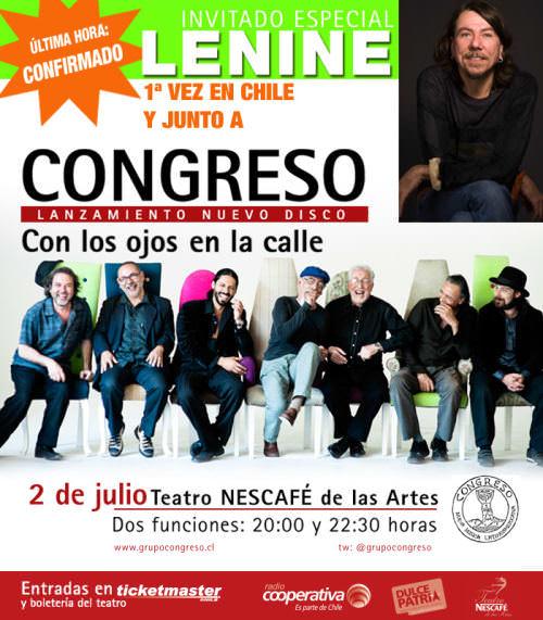 Recital: Congreso y Lenine 1