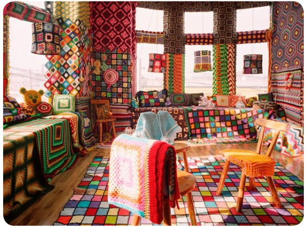 Obsesionada con los granny square en crochet