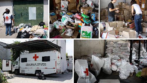 Terremoto en Chile: plata y otras donaciones 13