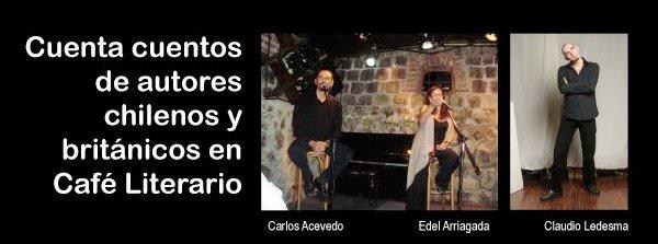 MIE/27/04 Cuenta cuentos chilenos y británicos en el Café Literario Balmaceda 3