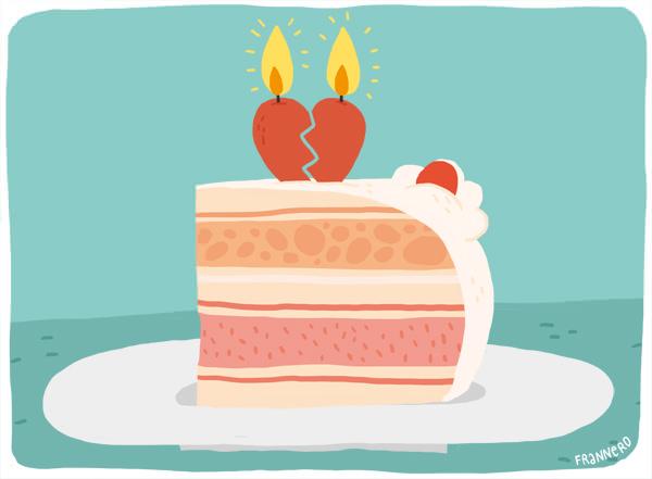 Cuando un ex está de cumpleaños ¿lo saludas? 1