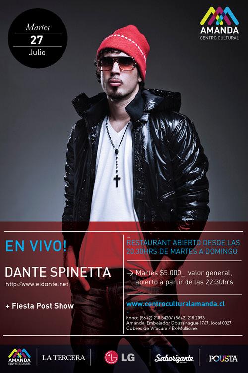 MAR/27/07 Dante Spinetta en vivo 3
