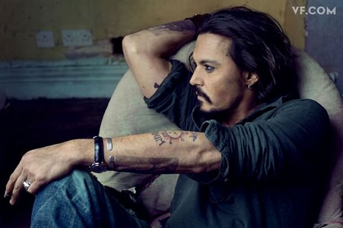 Johnny Depp entrevistado por Patti Smith 3