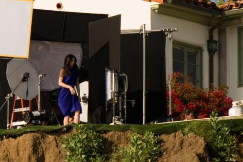 Demi Moore en Bazaar abril 2