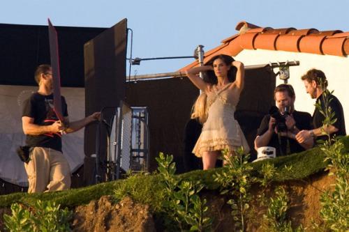 Demi Moore en Bazaar abril 4