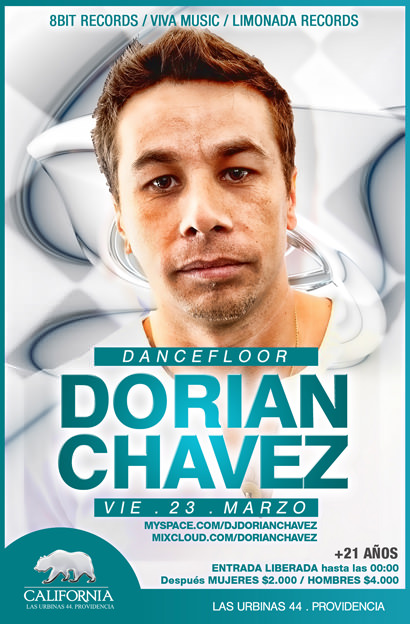 Dj Dorian Chavez en vivo en Grand California 1