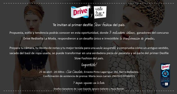 Desfile Slow Fashion 1