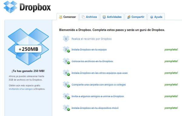 Dropbox: oficina portátil y más 1