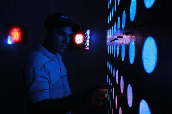 Yto Aranda: Pintura Electrónica Interactiva 3