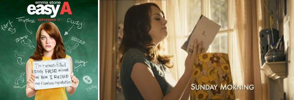 Las escenas: Easy A, Pocketful Of Sunshine  3