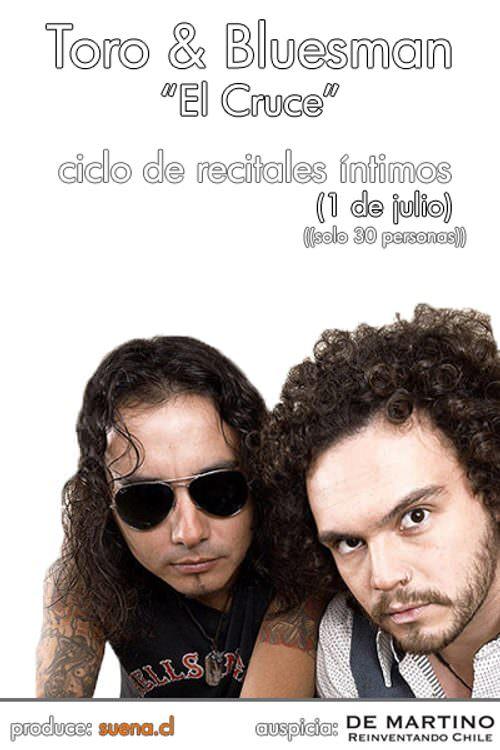 Toro & Bluesman (de El Cruce) en concierto íntimo 1