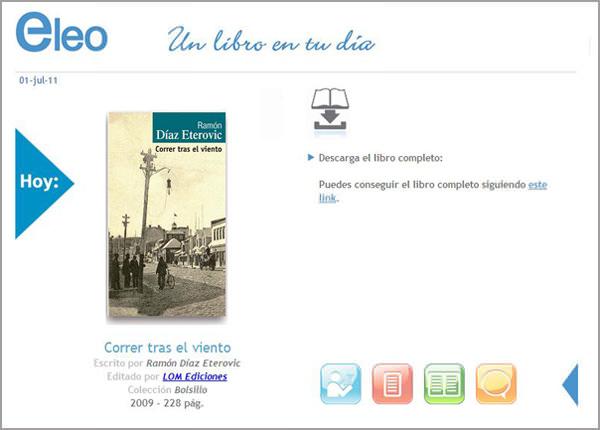 Eleo, una aplicación para libros en Facebook 3