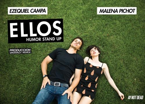 """Male Pichot y su show """"Ellos"""" en Baires 1"""