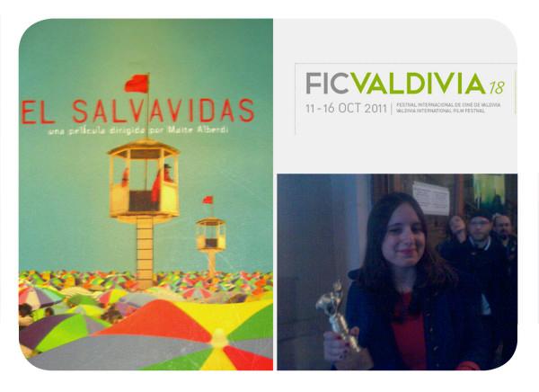 El merecido premio del público para El Salvavidas en el FICValdivia 1