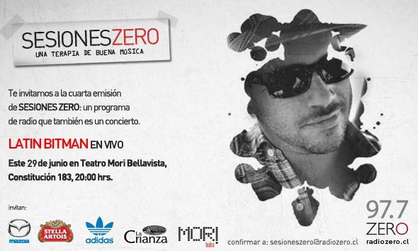 """Sesiones Zero"""" Latin Bitman 3"""