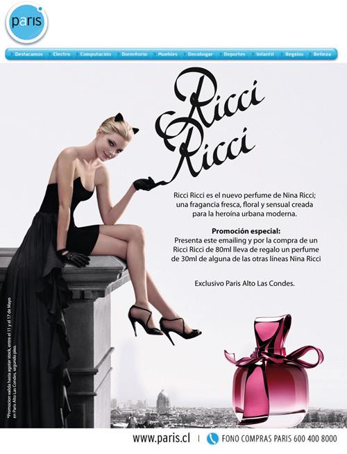 Concurso: Gana un perfume Ricci Ricci! 2
