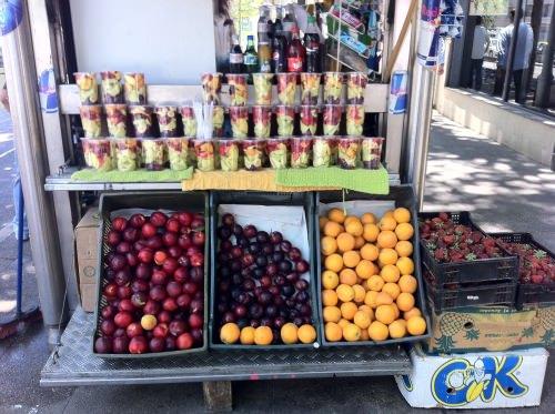 Ensalada de frutas callejera 3