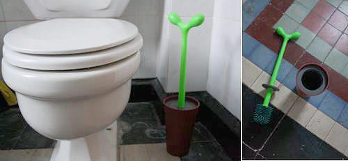 Escobilla de baño/planta 3