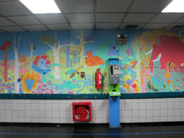 Coni y Trini Están Pintando: murales en espacios públicos y privados 6