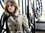 Emma Watson en la nueva campaña de Burberry 1