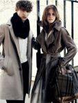 Emma Watson en la nueva campaña de Burberry 2
