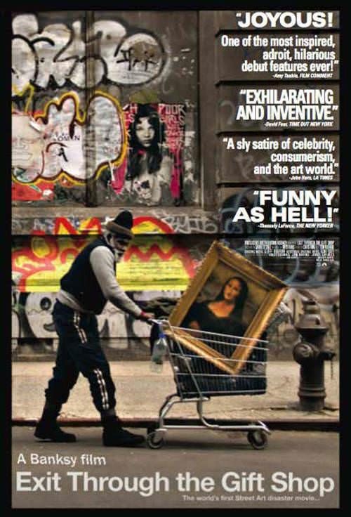 Vi Exit through the gift shop, la película de Banksy 3