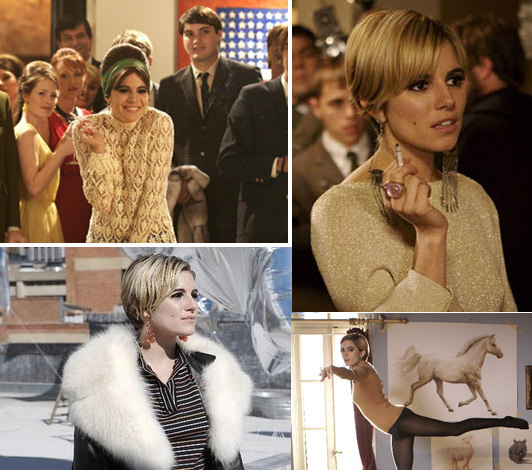 El look: Sienna Miller en Factory Girl 1