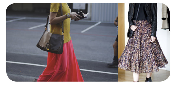 Faldas largas para el verano 1