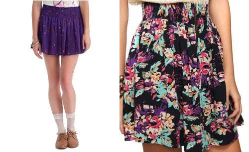 Faldas con cintura elasticada 1