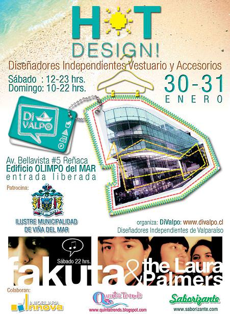 Tercera Feria DiValpo: Hot Design  1