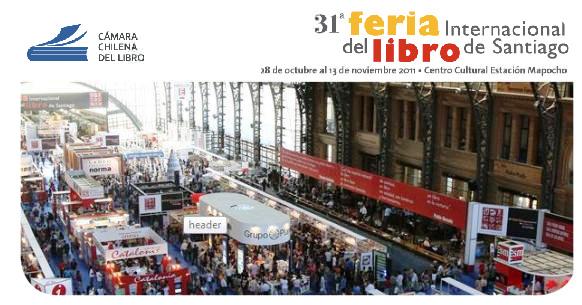 La feria del libro de Santiago 2011  1