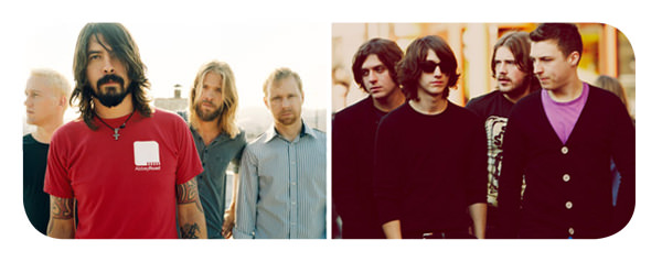 Foo Fighters y Arctic Monkeys a Lollapalooza Chile 2012 3
