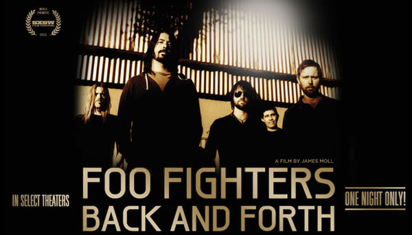 Back and Forth, el inspirador documental de Foo Fighters 1
