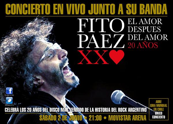 Fito Páez en Chile 3