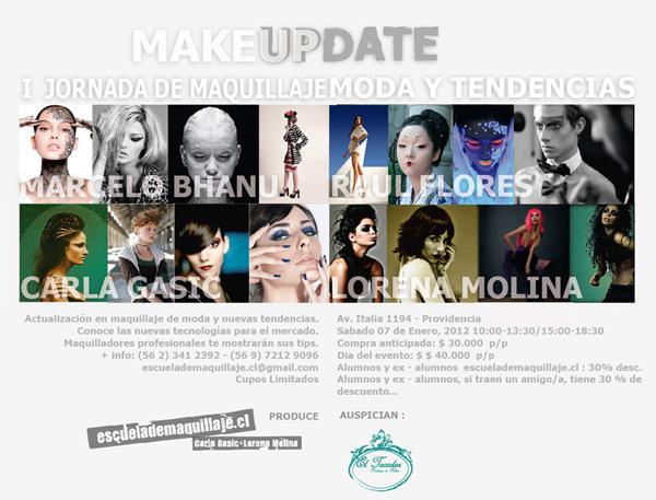 Makeup Update, jornada de maquillaje 1