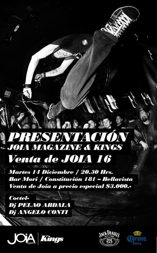 Presentación Joia Magazine & Kings 3