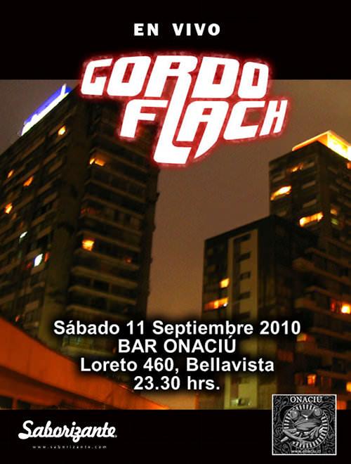 SAB/11/09 Gordo Flach en vivo 3