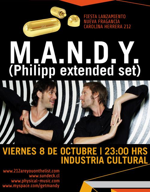 VIE/08/10: Gana entradas para M.A.N.D.Y.! 1