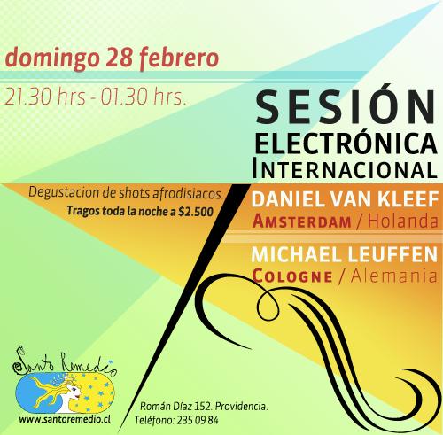 Sesión Electrónica Internacional en Santo Remedio 3